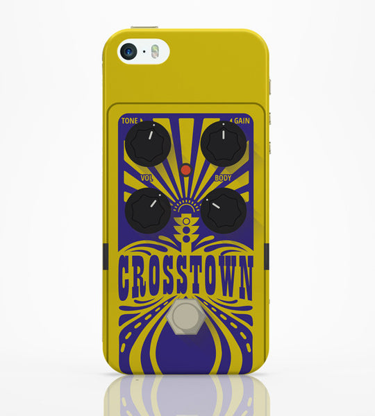 iPhone 5 / 5S Cases & Covers | Crosstown Guitar Effects Pedal | Mojo Hand Fx iPhone 5 / 5S Case Online India