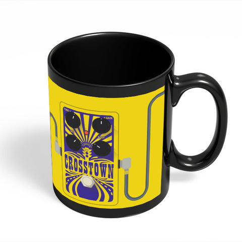 Coffee Mugs Online | Crosstown Guitar Effects Pedal | Mojo Hand Fx Black Coffee Mug Online India