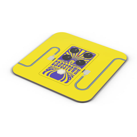 Buy Coasters Online | Crosstown Guitar Effects Pedal | Mojo Hand Fx Coaster Online India | PosterGuy.in