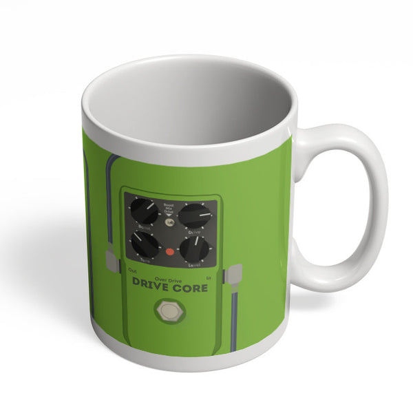 Coffee Mugs Online | Overdrive Drive Core Guitar Effects Pedal Mug Online India