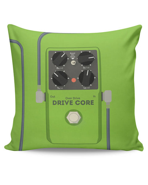 PosterGuy | Overdrive Drive Core Guitar Effects Pedal Cushion Cover Online India