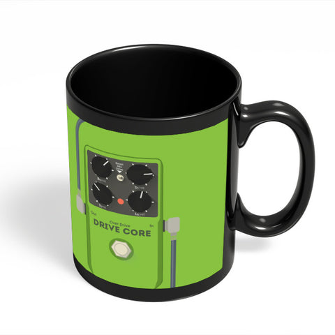 Coffee Mugs Online | Overdrive Drive Core Guitar Effects Pedal Black Coffee Mug Online India