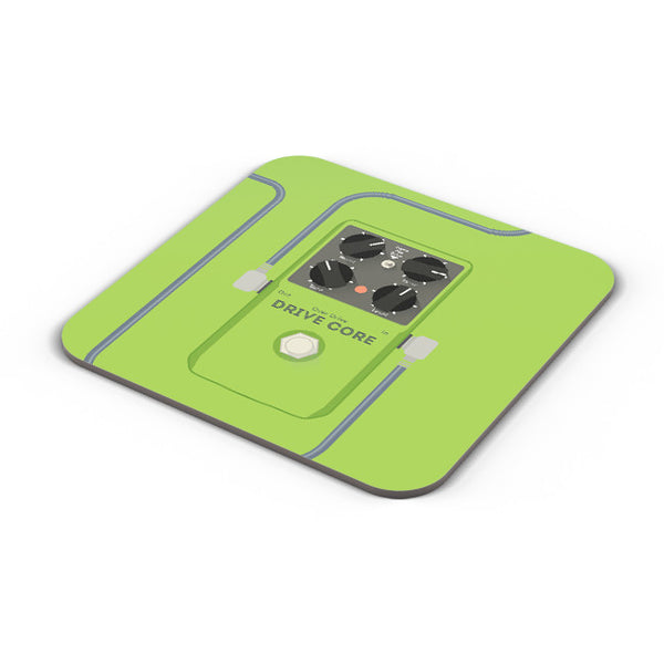 Buy Coasters Online | Overdrive Drive Core Guitar Effects Pedal Coaster Online India | PosterGuy.in