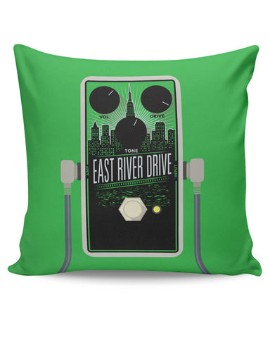 PosterGuy | East River Drive Guitar Effects Pedal Cushion Cover Online India