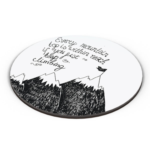 PosterGuy | Every Mountain Is Within Reach If You Keep Climbing Fridge Magnet Online India by Mayank Dhawan