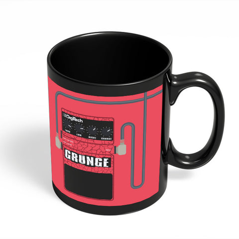 Coffee Mugs Online | Grunge Digitech Guitar Effects Pedal Black Coffee Mug Online India
