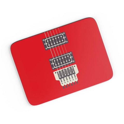 Guitar Close-Up View A4 Mousepad Online India