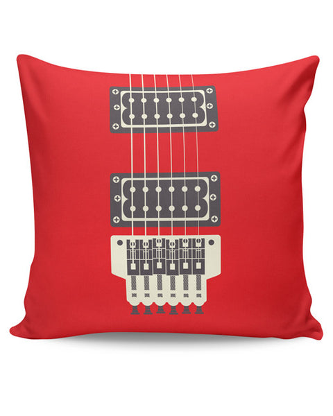 PosterGuy | Guitar Close-Up View Cushion Cover Online India