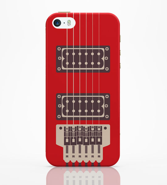 iPhone 5 / 5S Cases & Covers | Guitar Close-Up View iPhone 5 / 5S Case Online India