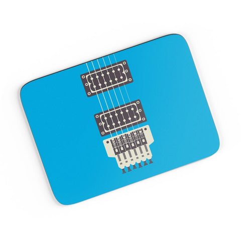 Guitar Close-Up View (Blue) A4 Mousepad Online India