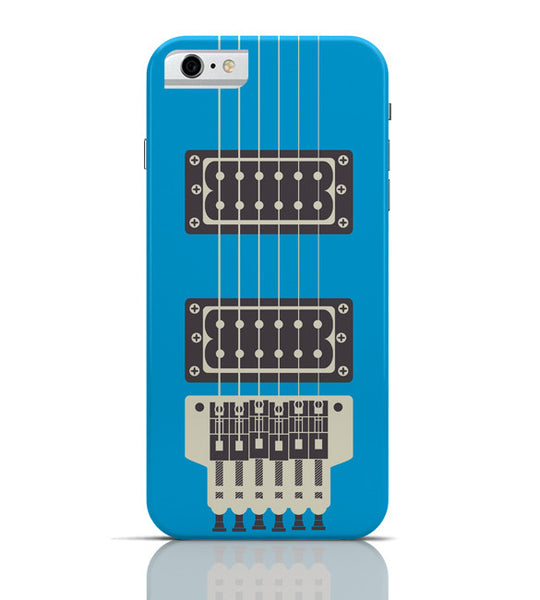 iPhone 6 Covers & Cases | Guitar Close-Up View (Blue) iPhone 6 Case Online India