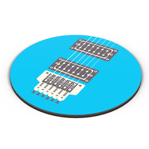 PosterGuy | Guitar Close-Up View (Blue) Fridge Magnet Online India by Mayank Dhawan