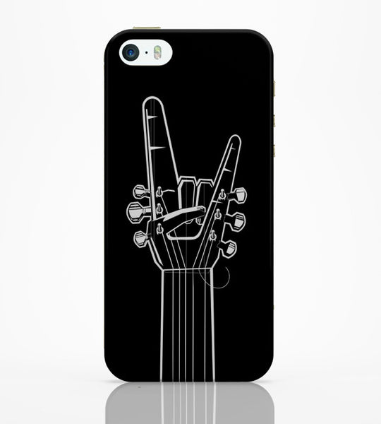 iPhone 5 / 5S Cases & Covers | Guitar Fret Hand iPhone 5 / 5S Case Online India