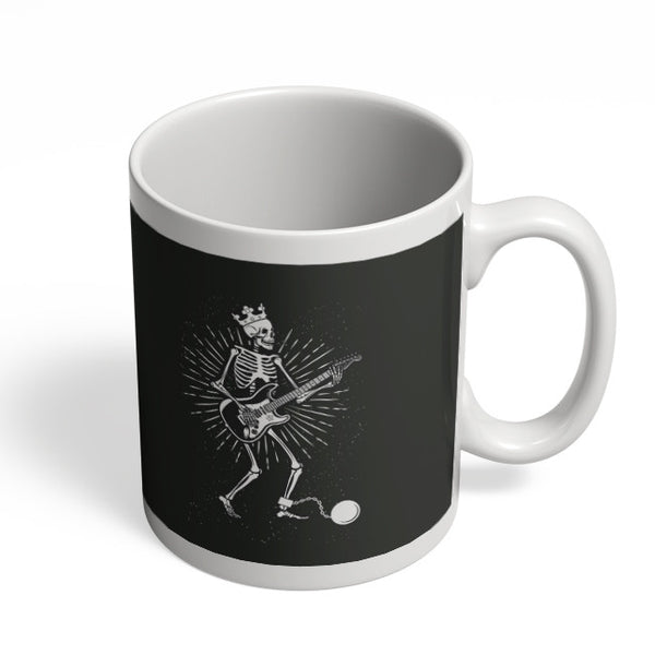 Coffee Mugs Online | Guitar Slave (White) Mug Online India