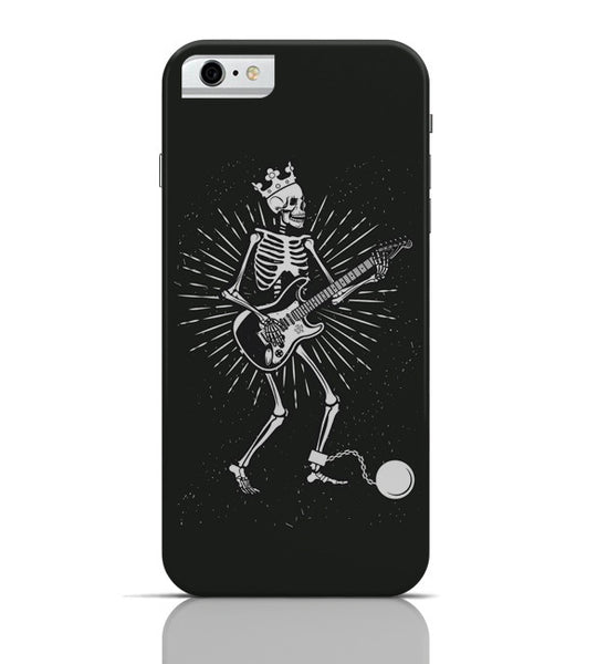 iPhone 6 Covers & Cases | Guitar Slave (White) iPhone 6 Case Online India