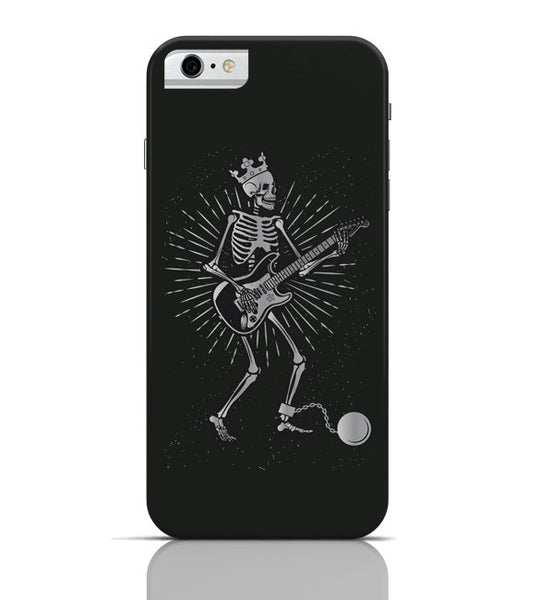 iPhone 6 Covers & Cases | Guitar Slave (Grey) iPhone 6 Case Online India