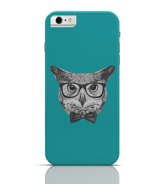 iPhone 6 Covers & Cases | Mr Owl (Blue) Illustration iPhone 6 Case Online India
