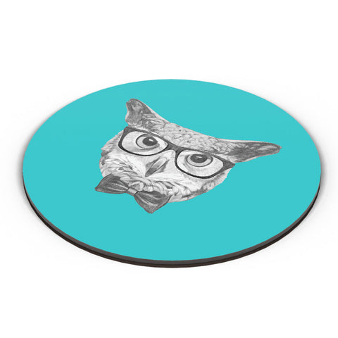 PosterGuy | Mr Owl (Blue) Illustration Fridge Magnet Online India by Mayank Dhawan