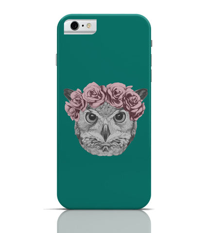 iPhone 6 Covers & Cases | Ms Owl (Blue) Illustration iPhone 6 Case Online India
