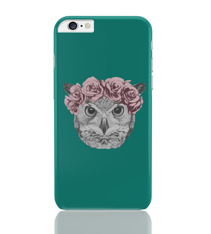 iPhone 6 Plus/iPhone 6S Plus Covers | Ms Owl (Blue) Illustration iPhone 6 Plus / 6S Plus Covers Online India