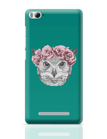 Xiaomi Mi 4i Covers | Ms Owl (Blue) Illustration Xiaomi Mi 4i Cover Online India