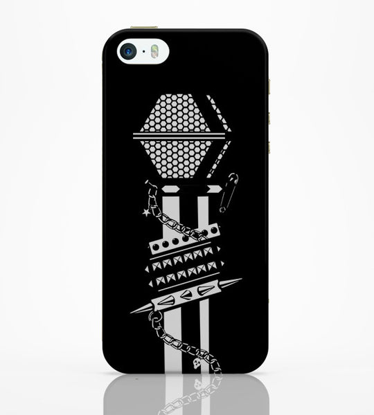 iPhone 5 / 5S Cases & Covers | Punk Mic Guitar Effects Pedal iPhone 5 / 5S Case Online India