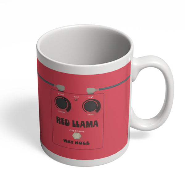 Coffee Mugs Online | Red Lama Guitar Effects Pedal Mug Online India