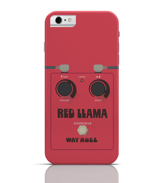 iPhone 6 Covers & Cases | Red Lama Guitar Effects Pedal iPhone 6 Case Online India