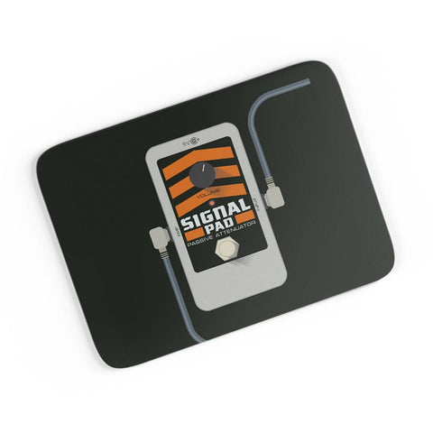 Signal Pad Passive Attenuator Guitar Effects Pedal A4 Mousepad Online India