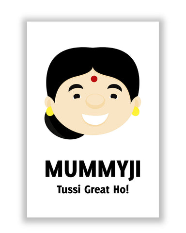 Buy Posters Online | Mummyji | Mother Punjabi Poster | PosterGuy.in