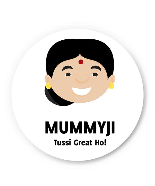 Mummyji | Mother Punjabi Fridge Magnet Online India