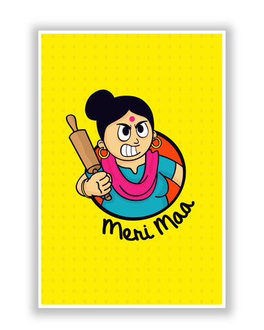 Buy Posters Online | My Mom | Meri Maa Poster | PosterGuy.in