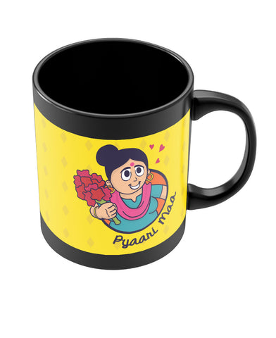 My Mom | Meri Maa Black Coffee Mug Online India