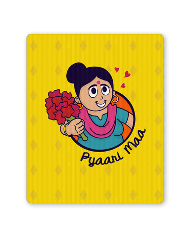 Mouse Pads | Pyaari Maa Love you Mom Mousepad Online India | PosterGuy.in