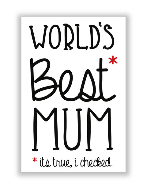 Buy Posters Online | World's Best Mom Poster | PosterGuy.in
