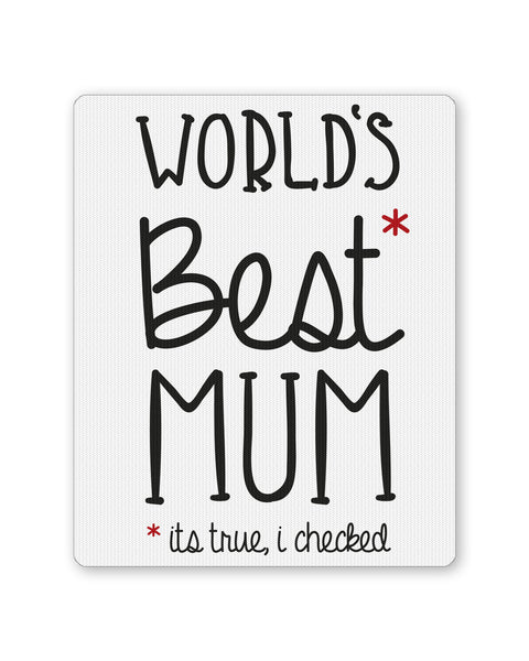Mouse Pads | World's Best Moms Mousepad Online India | PosterGuy.in