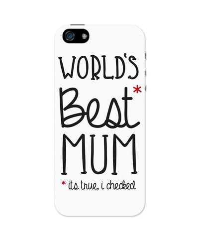 World's Best Moms iPhone 5 / 5S Case