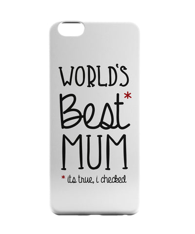 iPhone 6 Case & iPhone 6S Case | World's Best Moms iPhone 6 | iPhone 6S Case Online India | PosterGuy