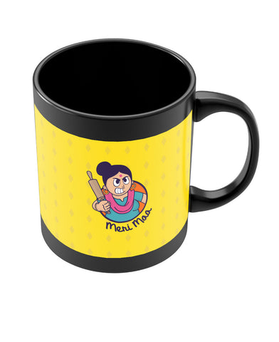 Angry Mom Black Coffee Mug Online India