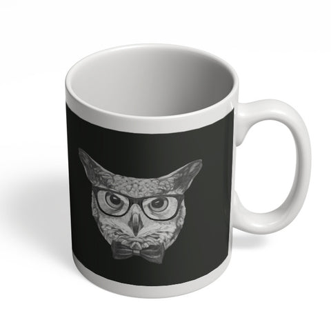 Coffee Mugs Online | Mr Owl Illustration Mug Online India