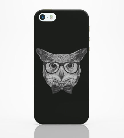 iPhone 5 / 5S Cases & Covers | Mr Owl Illustration iPhone 5 / 5S Case Online India