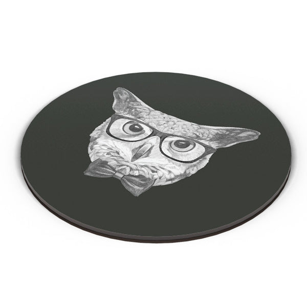 PosterGuy | Mr Owl Illustration Fridge Magnet Online India by Mayank Dhawan