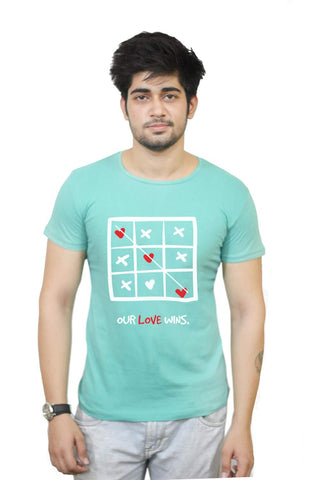 Buy Funny T-Shirts Online India | Our Love Wins T-Shirt Funky, Cool, T-Shirts | PosterGuy.in