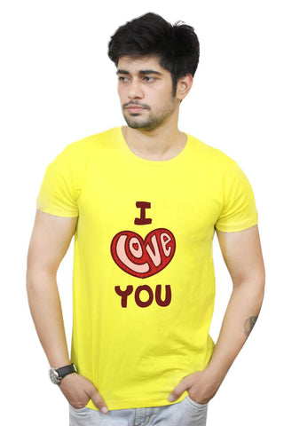 Buy Funny T-Shirts Online India | I Love You T-Shirt Funky, Cool, T-Shirts | PosterGuy.in