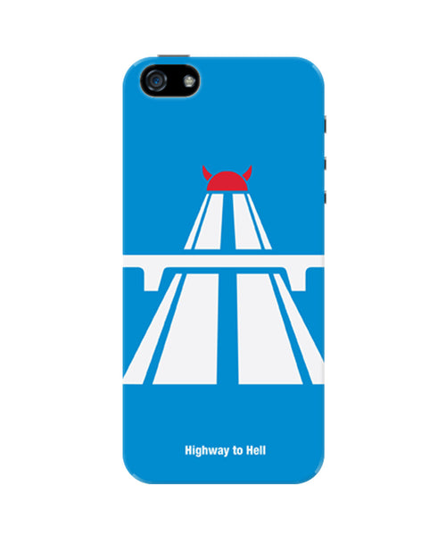 Highway To Hell AC/DC Inspired iPhone 5 / 5S Case