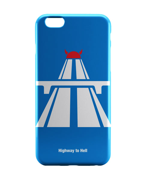 iPhone 6 Case & iPhone 6S Case | Highway To Hell AC/DC Inspired iPhone 6 | iPhone 6S Case Online India | PosterGuy