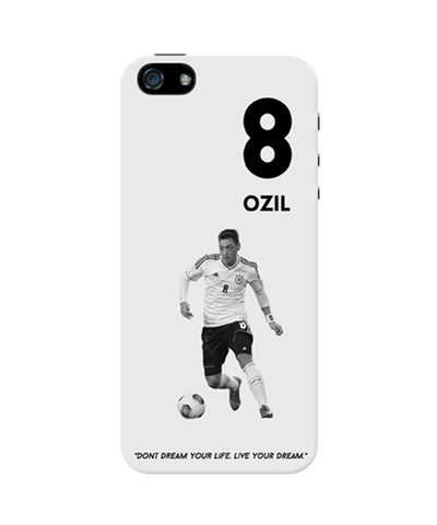 Mezut Ozil Motivational iPhone 5 / 5S Case