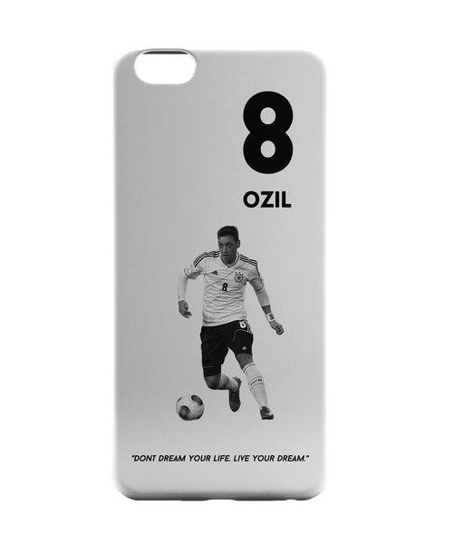iPhone 6 Case & iPhone 6S Case | Mezut Ozil Motivational Football iPhone 6 | iPhone 6S Case Online India | PosterGuy