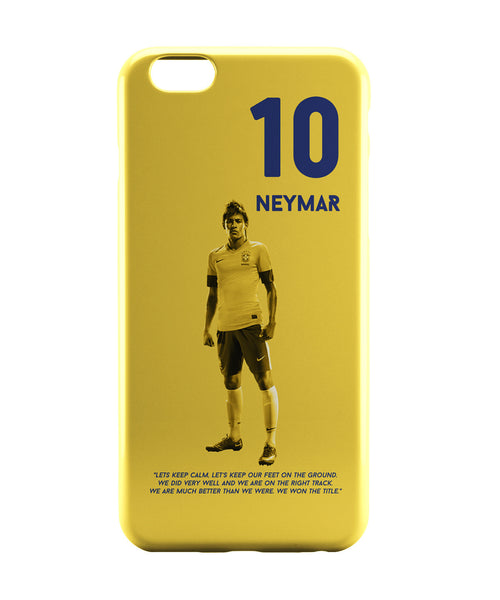 iPhone 6 Case & iPhone 6S Case | Neymar Motivational Football iPhone 6 | iPhone 6S Case Online India | PosterGuy