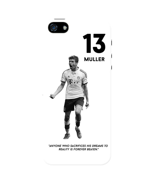 Thomas Muller Motivational iPhone 5 / 5S Case